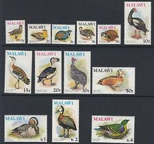 BIRDS :MALAWI 1975 Birds definitives SG 473-85 never-hinged mint