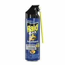 Raid Max Ant & Roach Killer - Kills On Contact For Up To Four Weeks, 6-Pack