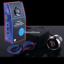 Red LED Illuminate Engine Start PUsh Button Switch 12V Kit Universal New