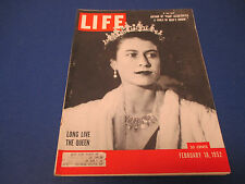 Life Magazine , February 18,1952, Long Live The Queen, A Fable Of Man's Origin