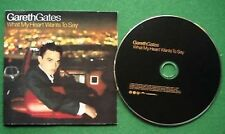 Gareth Gates What My Heart Wants to Say CD