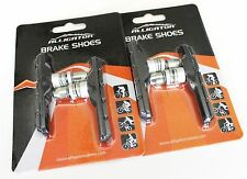New Alligator Bike Bicycle MTB V-brake shoes pads Threaded type Black, 2 pair