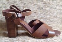 Red Tape Women's Sandals, UK 8, Tan Leather, Great Condition