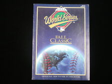 1992 World Series Program - Toronto Blue Jays vs. Atlanta Braves