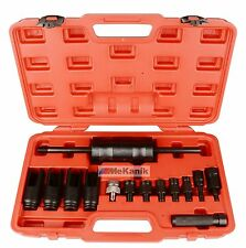 14PC Diesel Injector Extractor Puller Set With Common Rail Adaptor Slide HAMMER