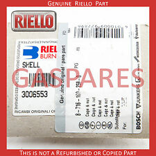 Riello Gas Spare Shell - Cover Cage & Nut Part No 3006553 - 87161002590 - New