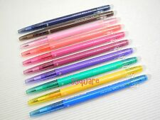 Pilot FriXion Ball Slim 0.38mm Erasable Rollerball Gel Ink Pen,10 NEW Colours