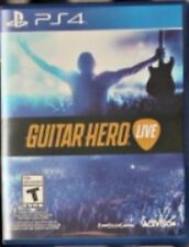 Guitar Hero Live RE-SEALED Sony PlayStation 4 PS PS4 GAME ONLY