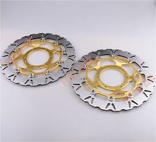 Gold Front Brake Disc Rotor for Honda CB1300 2003-2008 CB1000R 2008-2010