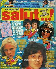 Salut ! n°24 -1977 - Transfert Sinbad et l'oeil du tigre - M. Delpech - Le Luron