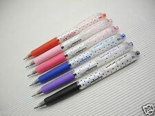 NEW Dot 6 Colors Barrel Uni-Ball Signo UMN-138S 0.38mm roller pen (Japan)