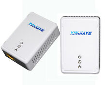 200Mbps Powerline Adapter KIT HomePlug WiFi Range Extender US/EU