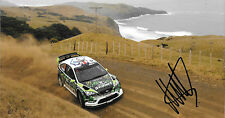 Matthew Wilson SIGNED Ford Focus RS WRC 08 , WRC Rally New Zealand 2010