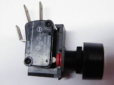 Latching push button micro switch 15A 250Vac Plastic SPDT push on push off #EH05