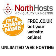 Unlimited Website / Web Hosting - Free .co.uk or .com domain!! Well trusted!