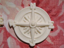 SHABBY COSTAL COMPASS FURNITURE APPLIQUE ONLAY EMBELLISHMENT