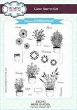 Creative Expressions HERB GARDEN CEC812 A5 Clear Stamp Set John Lockwood