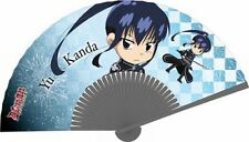 D. Gray-Man folding fan sensu official anime cosplay Yu Kanda Authentic