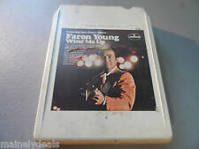 Wine Me Up by Faron Young 8 Track Tape Tested!