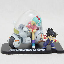 Dragon Ball Z Museum Collection Figure #4 Bulma Gokou Bike JAPAN ANIME MANGA