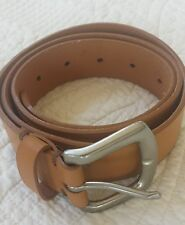 CK Calvin Klein Jeans Women's Studded Leather Belt, Size 32 Inches $69