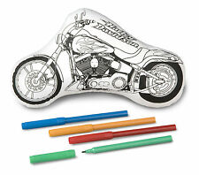 COLLECTIBLE HARLEY-DAVIDSON H-D KID CHILD CRAFT KIT TOY COLOR *ME MOTORCYCLE NEW
