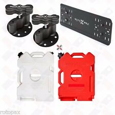 Rotopax 2 Gallon Gas/Water Pack Fuel w/Pack Pack Mounts Mounting Plate Gerry Can