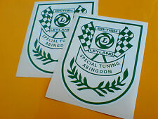 BRITISH LEYLAND SPECIAL TUNING ABINGDON Decals Stickers 2 off 100mm
