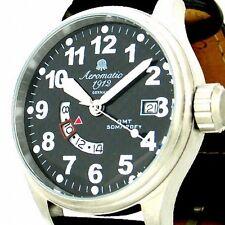 Defender Weltzeit Piloten-GMT Datum Neu A1288 Präzisionslaufwerk