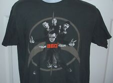 Official U2 360 Degree Tour Concert Shirt Bono Adult L from 2009 2-SIDED!