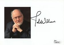 JOHN WILLIAMS HAND SIGNED 5x7 COLOR PHOTO       JAWS+STAR WARS COMPOSER      JSA