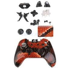 Red Dragon Shell Case Full Thumbstick Button Kit for Xbox One Controller