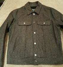 ☆DOLCE & GABBANA☆100% AUTHENTIC Wool Jacket sz XL Men's .EX CONDITION. RRP 400£