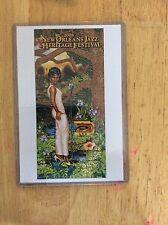 2008 New Orleans Jazz Fest Poster Postcard Irma Thomas Douglas Bourgeois