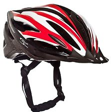 Sport Direct™ Vento OutMould Bike Bicycle Helmet Red/White/Black 53-58cm SHE580