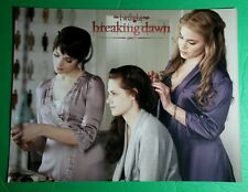 TWILIGHT BREAKING DAWN PART 1 BELLA ROSALIE ALICE DOING HAIR 8.5X11 PHOTO POSTER