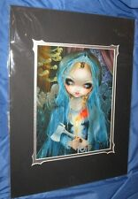 HAUNTED MANSION Art Print Jasmine Becket-Griffith ~Disney Exclusive THE BRIDE