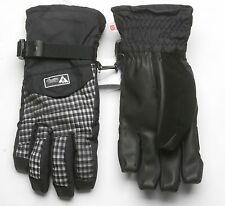 Burton Men Approach Under Gloves (S) True Black Gingham
