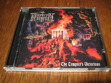 "PERDITION TEMPLE ""The Tempter's Victorius"" CD  black witchery revenge"