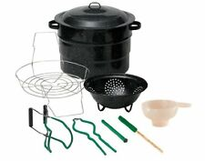 Granite Ware 0718-1 CANNING KIT, 9-Piece Durable Enamel on Steel COOKER
