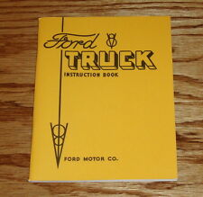 1934 Ford V-8 Truck Reference Instruction Book Owners Operators Manual 34