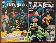 JLA Hitman (2007) #1 & 2 - Comic Books - Garth Ennis - From DC Comics