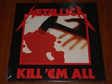 METALLICA KILL 'EM ALL LP *RARE* UNIVERSAL E/M VENTURES EU PRESS VINYL 2008 New