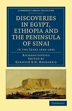 Cambridge Library Collection - Egyptology: Discoveries in Egypt, Ethiopia and...
