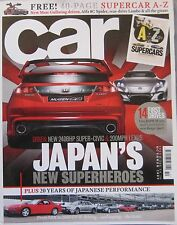 CAR magazine 10/2009 featuring Lexus, Mugan, AMG, Citroen GT
