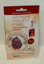 Skin Benefits Heating VOLCANO MASK Thermo Purifying Treatment Exclusive Formula
