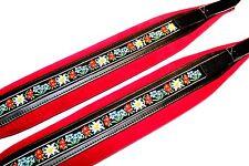 Profi-Trageriemen System für Akkordeon u. Steirische, Size XL, Folklore rot