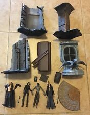 UNDERWORLD Selene Michael Viktor Mezco Movie Action Figures Lot With Bases