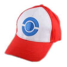 Anime Pokemon ASH KETCHUM trainer costume cosplay Kids Hat Cap High Quality New
