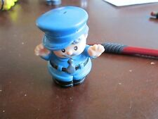 Fisher Price Little People crossing guard Train police cop grandpa watch bus boy